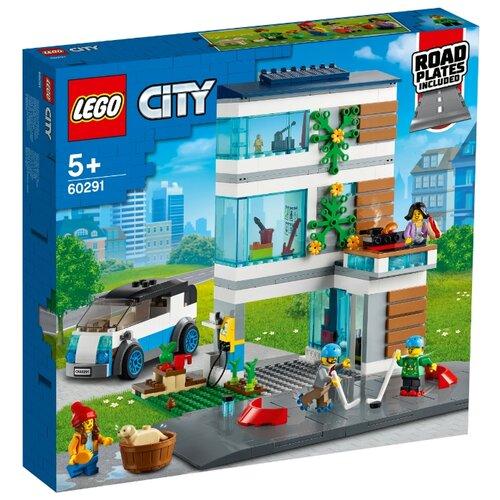 Купить Конструктор LEGO City 60291 Семейный дом, Конструкторы