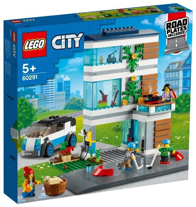 Конструктор LEGO City 60291 Семейный дом фото 1