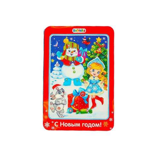 Купить Планшет Zabiaka Веселый снеговичок (3250467) красный, Детские компьютеры