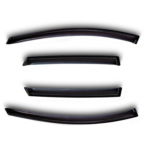 Дефлекторы окон Sim 4,5 дверей RENAULT SANDERO, HB, 2009-2014, NLD.SRESAN0932