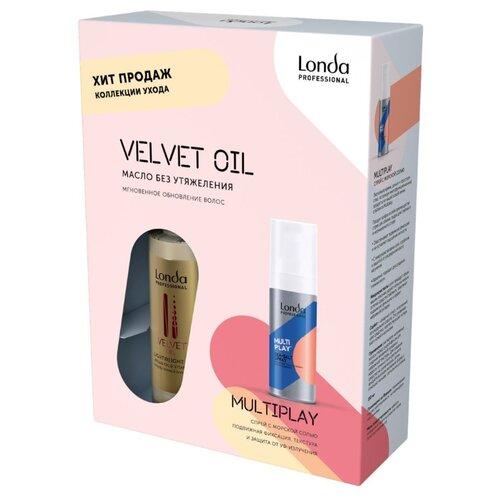 Набор Londa Professional Velvet Oil + Multiplay londa professional velvet oil conditioner argan oil and vitamin e