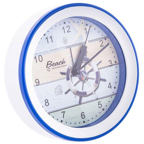 Часы настольные Русские подарки 60640-60641 белый/синий/штурвалЧасы настольные и каминные<br>