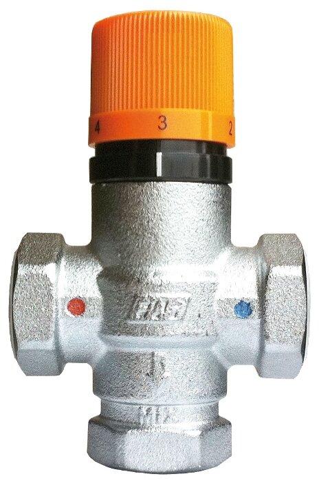 Трехходовой смесительный клапан термостатический FAR SolarFAR 3953 1 муфтовый (ВР), Ду 25 (1