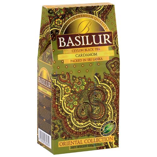 Чай черный Basilur Oriental collection Cardamom , 100 г basilur tea book v черный листовой чай 100 г жестяная банка