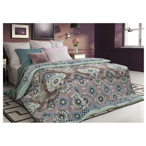 Постельное белье 2-спальное Sova & Javoronok Ловец снов 50х70 см, сатин розовый/зеленый постельное белье 1 5 спальное sova