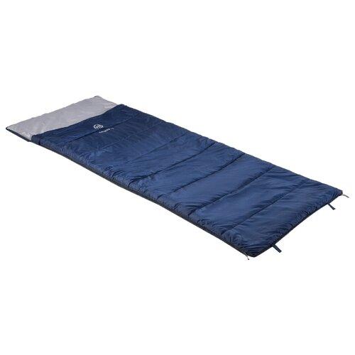 Спальный мешок FHM Galaxy -5 синий/серый с правой стороны