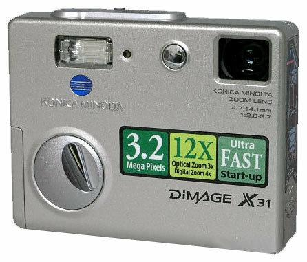 Фотоаппарат Konica Minolta DiMAGE X31