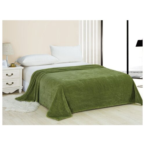 Плед Cleo Pinoli 200х220 см, зеленый пижама cleo cleo mp002xw13o9e
