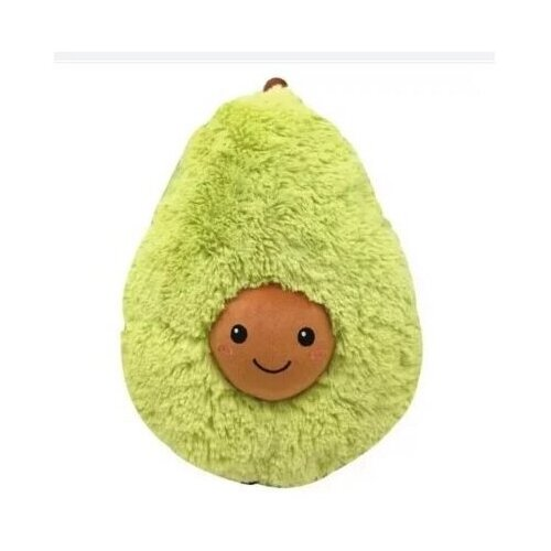 Мягкая игрушка Авокадо пушистый 40 см