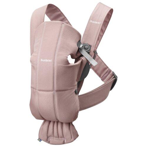 Купить Рюкзак-переноска Baby Bjorn Mini Dusty Pink, Рюкзаки и сумки-кенгуру