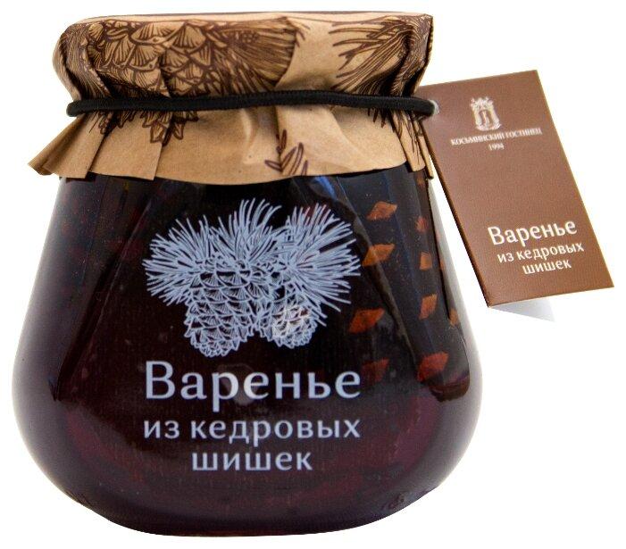 Варенье Косьминский гостинец из кедровых шишек, банка 290 г