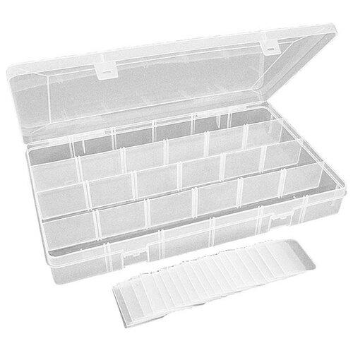 Коробка для приманок для рыбалки MIKADO UABM-315 35.5х22х8 см прозрачный