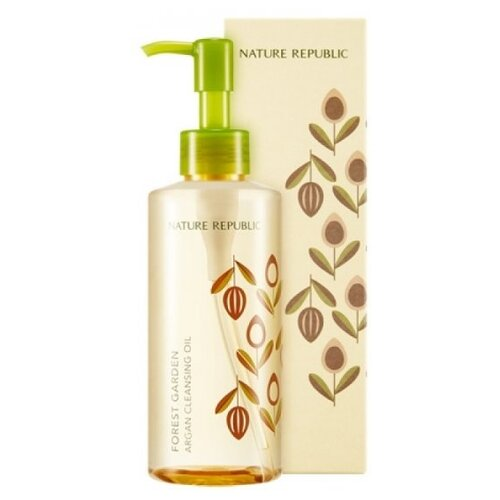 NATURE REPUBLIC гидрофильное масло для снятия макияжа с арганой Forest Garden Argan Cleansing Oil, 200 мл платье love republic love republic lo022ewpdo73