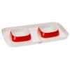 Подставка Ferplast Glam Tray Extra Small с двумя мисками 400 мл