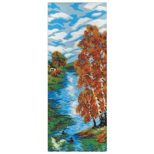 Купить Осенний день набор для вышивания бисером 19х15 МП-Студия БК-032, М.П.Студия, Наборы для вышивания