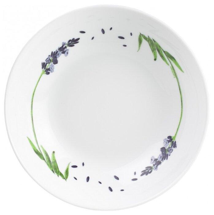 Тарелка суповая лавандер 20см