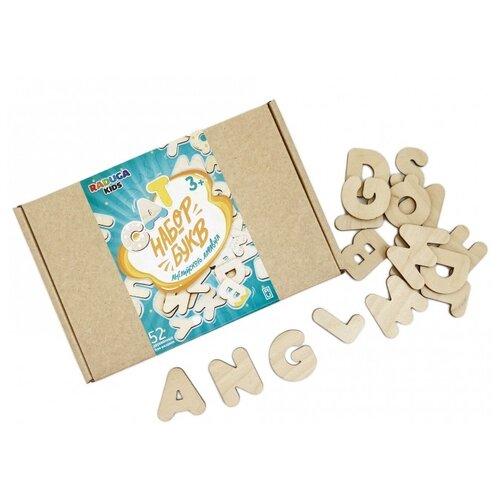 Набор букв Raduga Kids Английский Алфавит. Изучаем буквы и слова RK1202 бежевый