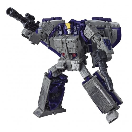 Купить Трансформер Hasbro Transformers Астротрейн. WFC-S51. Лидер (Война за Кибертрон: Осада) E8210 серый/фиолетовый, Роботы и трансформеры