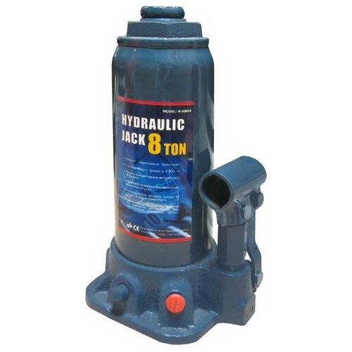 Домкрат бутылочный гидравлический MegaPower M-90804 (8 т) синий домкрат бутылочный гидравлический megapower m 90504s 5 т синий