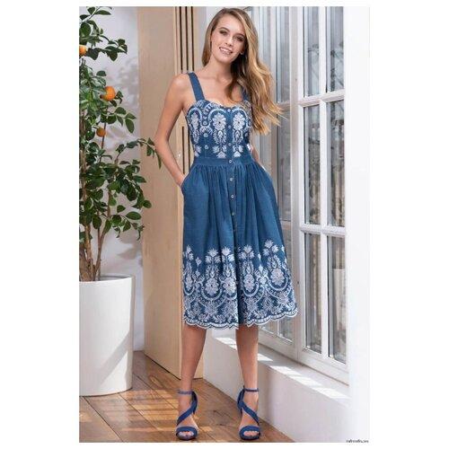 Платье Mia-Mella размер XS синий платье oodji ultra цвет красный белый 14001071 13 46148 4512s размер xs 42 170
