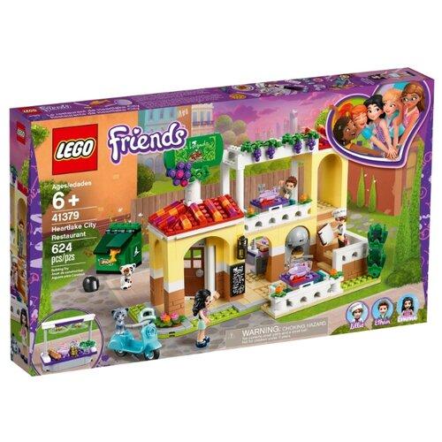 Конструктор LEGO Friends 41379 Ресторан Хартлейк Сити конструктор friends lego lego mp002xg00jt9
