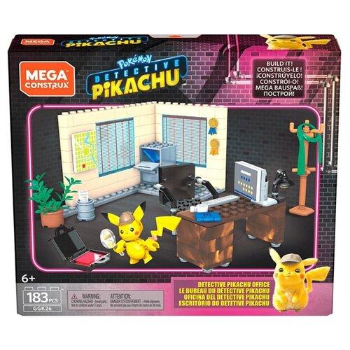 Конструктор Mega Construx Detective Pikachu GGK26 Office