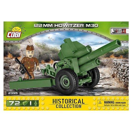 Фото - Конструктор Cobi Small Army World War II 2395 122 mm пушка Ховитзер M-30 конструктор cobi small army world war ii 2188 амфибия vw typ 166 schwimmwagen