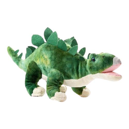 Мягкая игрушка ABtoys Dino World Динозавр Стегозавр, 36 см ABtoys   фото