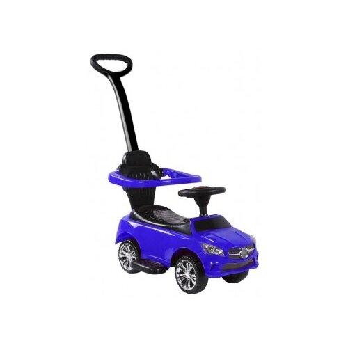 Каталка-толокар RiverToys Mercedes JY-Z06C со звуковыми эффектами синий, Каталки и качалки  - купить со скидкой
