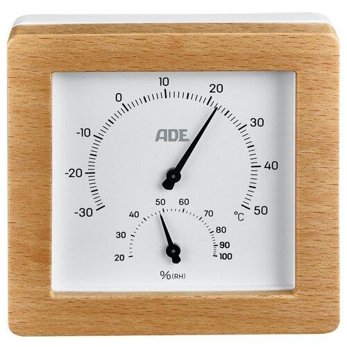 Метеостанция ADE WS 2000 белый/коричневый