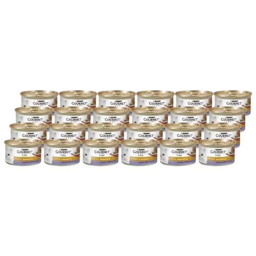 Корм для кошек Gourmet Gold Нежные биточки с ягненком и зеленой фасолью (0.085 кг) 12 шт.Корма для кошек<br>