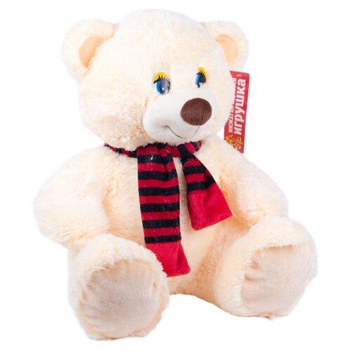 Мягкая игрушка Нижегородская игрушка Медведь маленький в шарфе 45 см игрушка