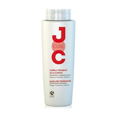 Фото - Barex шампунь JOC Cure Energizing против выпадения волос с имбирем, корицей и витаминами, 250 мл barex шампунь joc cure energizing против выпадения волос с имбирем корицей и витаминами 250 мл