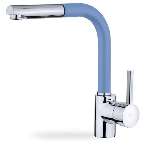 Смеситель для кухни (мойки) TEKA ARK 938 (цвет), голубой однорычажный