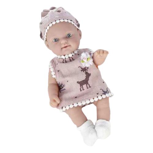 Пупс Junfa toys Pure Baby в розовом платье, 25 см, WJ-B9960 пупс junfa toys baby so lovely 1911 3