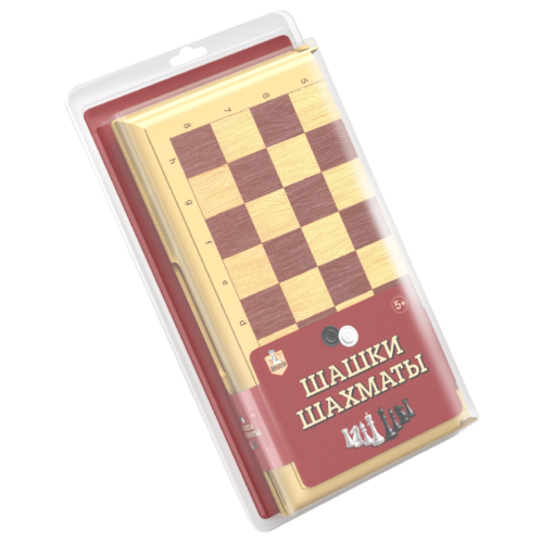 Десятое королевство Шашки-шахматы (03888) десятое королевство шашки русские и международные 00105