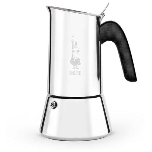 Гейзерная кофеварка Bialetti New Venus (4 чашки), металлик
