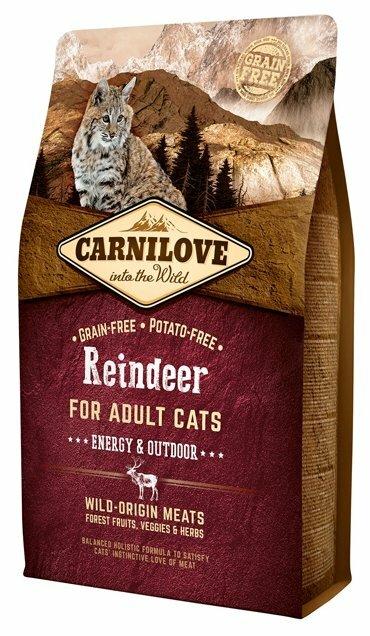 Корм для кошек Carnilove Reindeer for adult cats