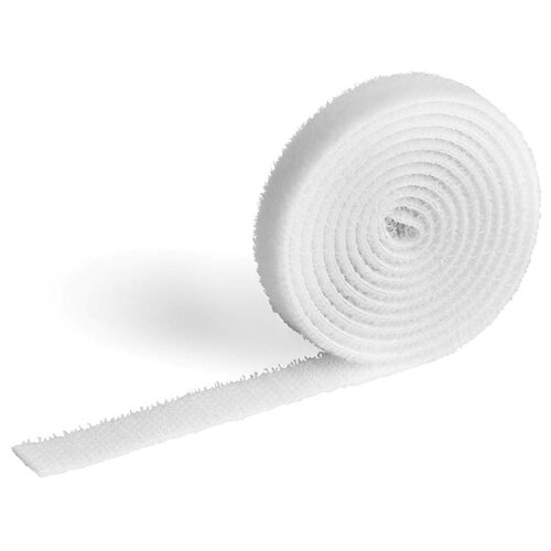 Лента на липучке для фиксации кабеля DURABLE CAVOLINE® GRIP 1000х10мм белый