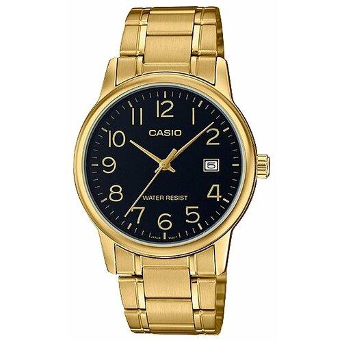 Наручные часы CASIO MTP-V002G-1B наручные часы casio mtp v002g 1b