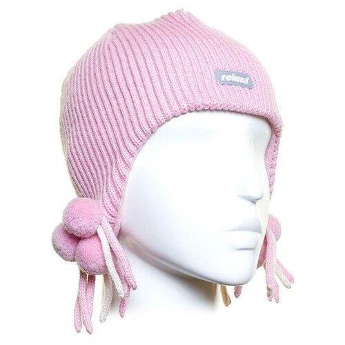 Шапка-ушанка Reima размер 50, pink шапка reima размер 48 pink