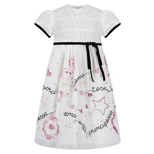 Платье Aletta размер 74, белый