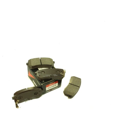 Дисковые тормозные колодки задние Frixa FPK20R для Kia Picanto, Hyundai i10 (4 шт.)