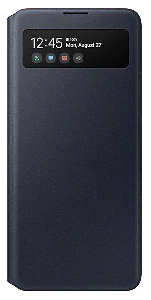 Чехол (флип-кейс) Samsung для Samsung Galaxy A51 S View Wallet Cover черный (EF-EA515PBEGRU)