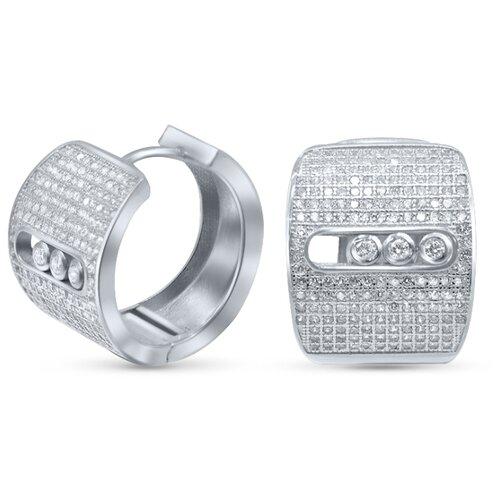 Silver WINGS Серьги из серебра куб.цирконий 22set6923a-113