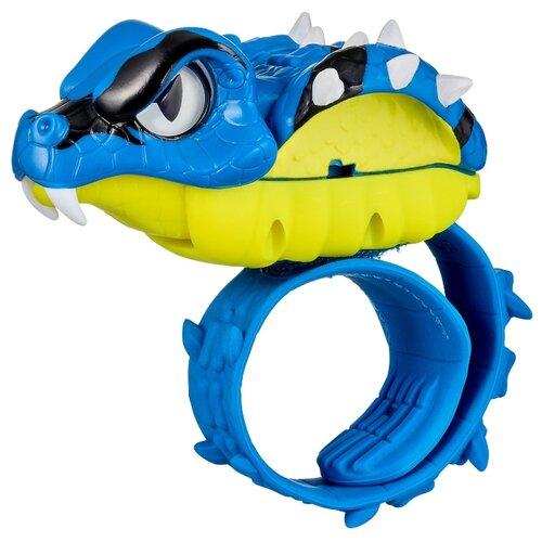 Купить Робот Moose Little Live Pets Рептилия Гадюка 28992 синий/желтый, Роботы и трансформеры