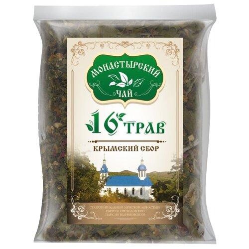 Фото - Чай травяной Крымский чай Монастырский № 27 Шестнадцать, 100 г чай травяной aroma монастырский 100 г