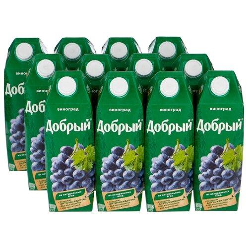Нектар Добрый Виноград, 1 л, 12 шт.