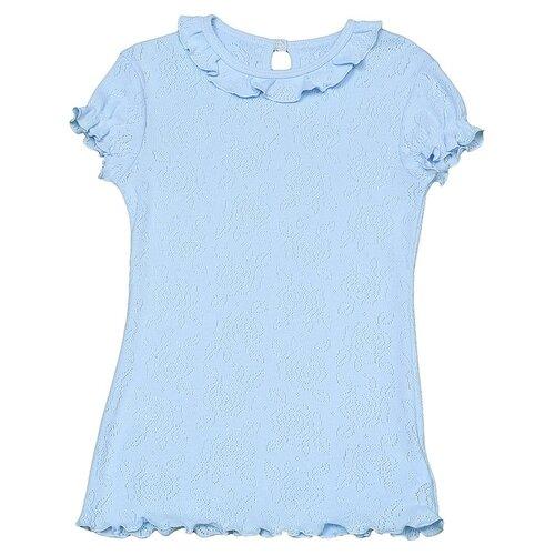 Блузка Снег размер 158, голубой