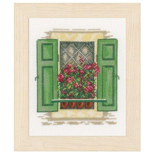 Купить Lanarte Набор для вышивания Window with shutters (Окно со ставнями) 18 х 21 см (PN-0167122), Наборы для вышивания
